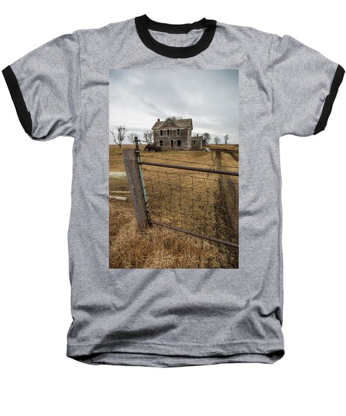 Baseball T-Shirt featuring the photograph At The Gate  by Aaron J Groen