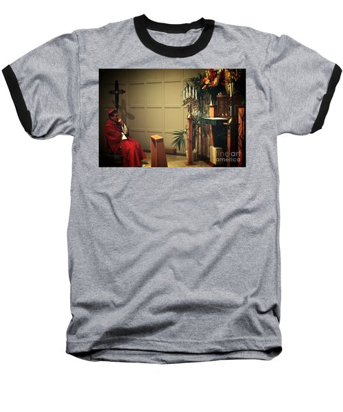 At The Heart Of Everything Baseball T-Shirt