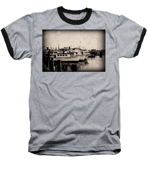At The Marina - Jersey Shore Baseball T-Shirt