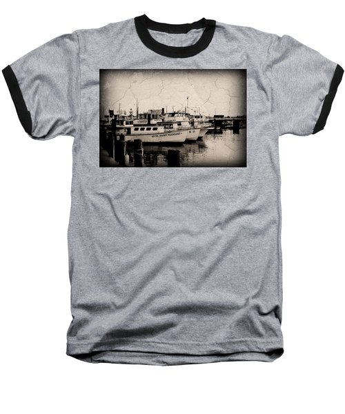 At The Marina - Jersey Shore Baseball T-Shirt
