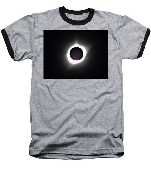 At The Moment Of Totality Baseball T-Shirt