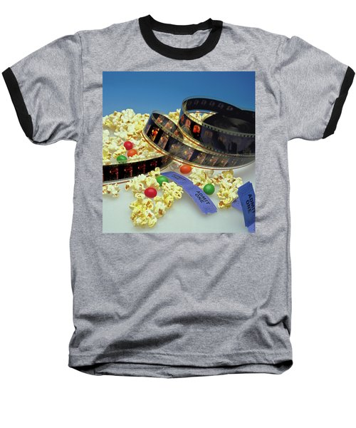 At The Movies  Baseball T-Shirt