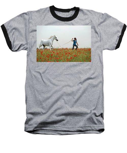 At The Poppies' Field... 2 Baseball T-Shirt