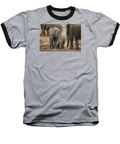 Baseball T-Shirt featuring the photograph At The Salt Lick 2 by Gary Hall