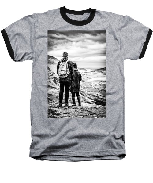 On The Edge Baseball T-Shirt