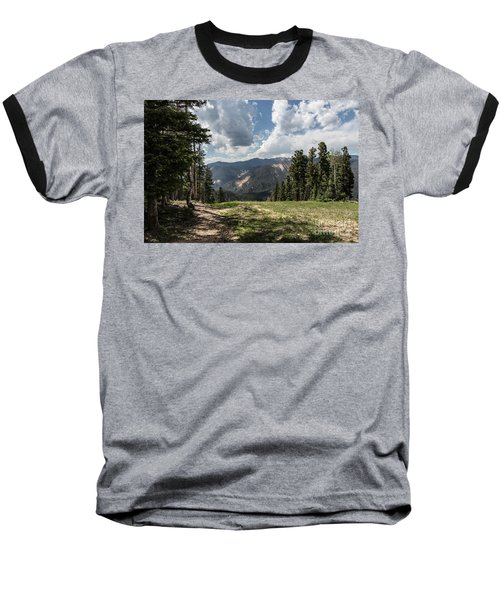 At The Top Of The Run Baseball T-Shirt