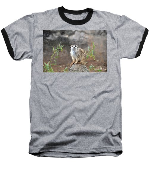 Baseball T-Shirt featuring the photograph At The Watch by John Black