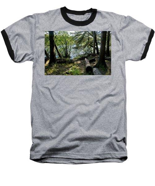 At The Water Edge. Baseball T-Shirt