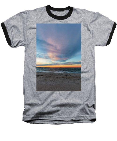 At Twilight Baseball T-Shirt by David Cote