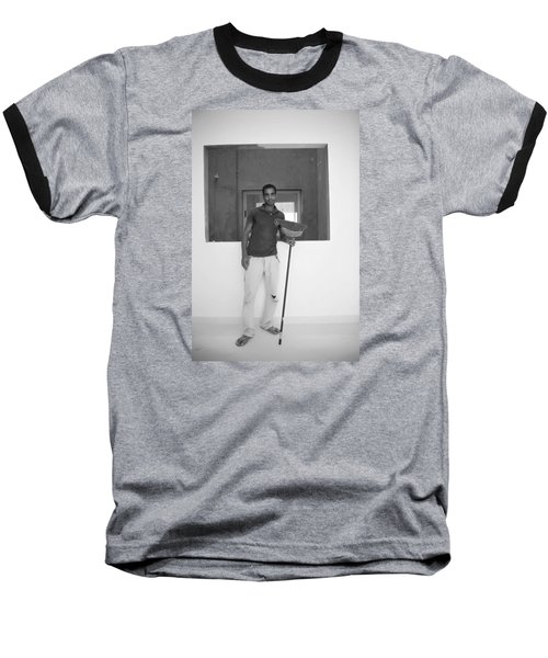Baseball T-Shirt featuring the photograph At Your Command by Jez C Self