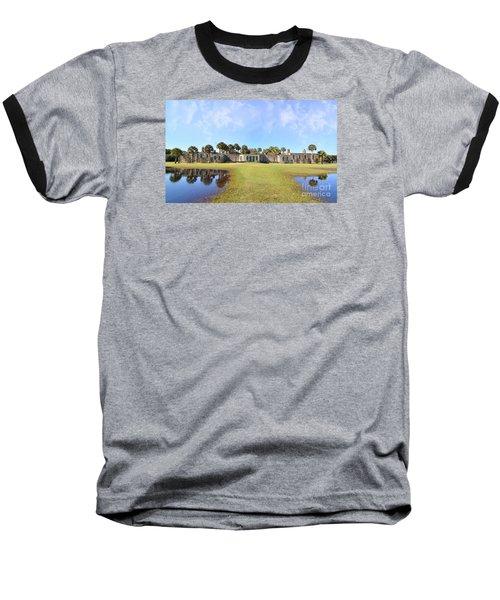 Atalaya Castle At Huntington Baseball T-Shirt by Kathy Baccari