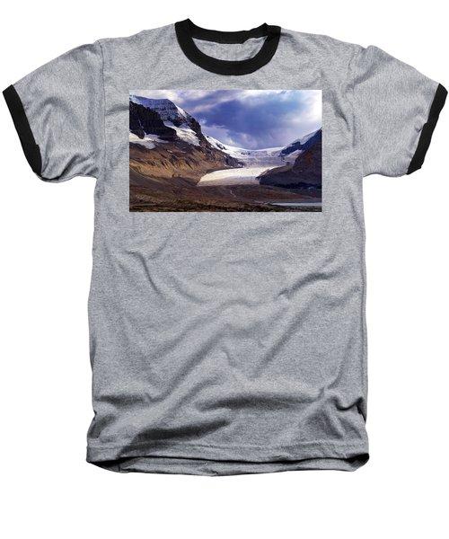 Athabasca Glacier Baseball T-Shirt