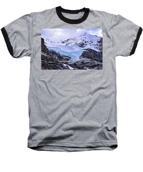 Athabasca Glacier No. 9-1 Baseball T-Shirt