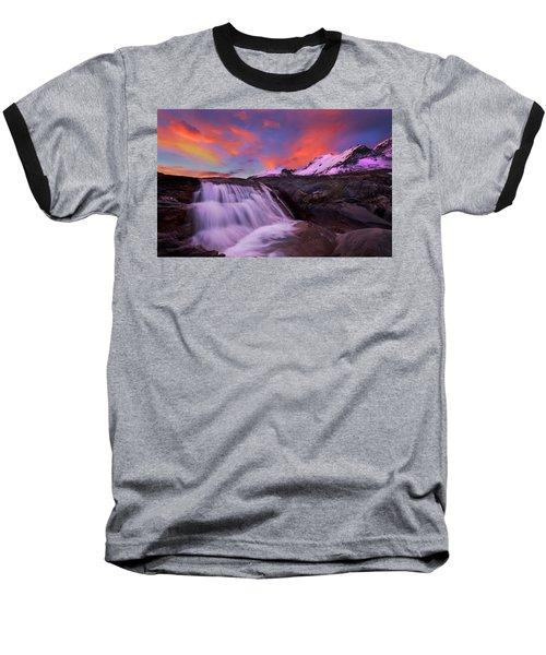 Athabasca On Fire Baseball T-Shirt