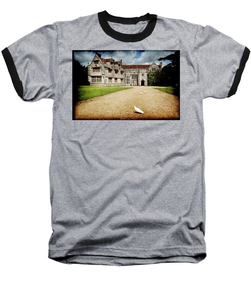Athelhamptom Manor House Baseball T-Shirt