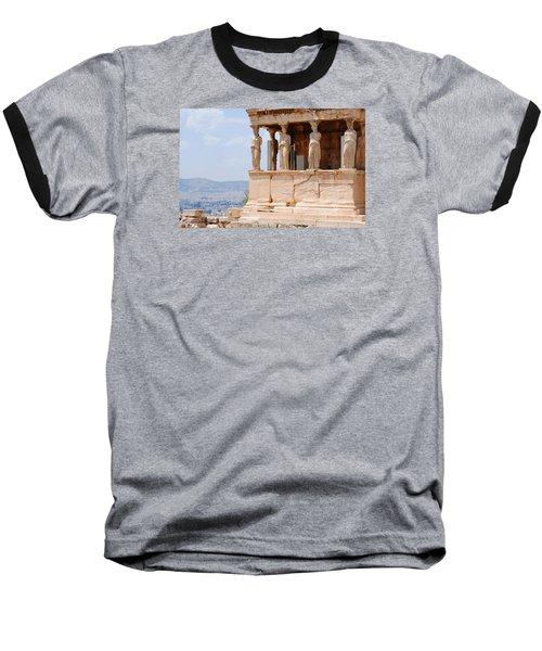 Erecthion Baseball T-Shirt by Robert Moss