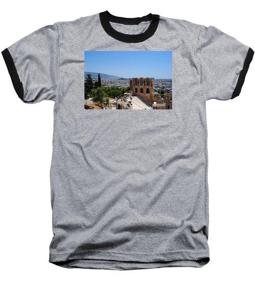 Athens Baseball T-Shirt by Robert Moss