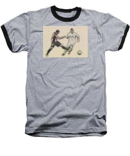 Athletic Club  Vs Real Madrid Baseball T-Shirt by Don Kuing