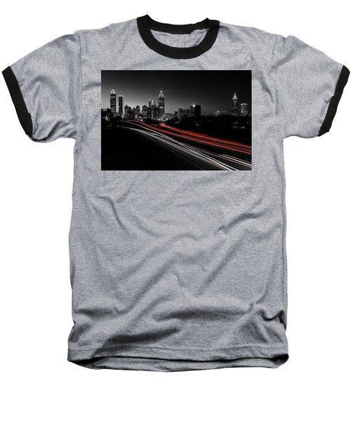 Atlanta Black And White Baseball T-Shirt