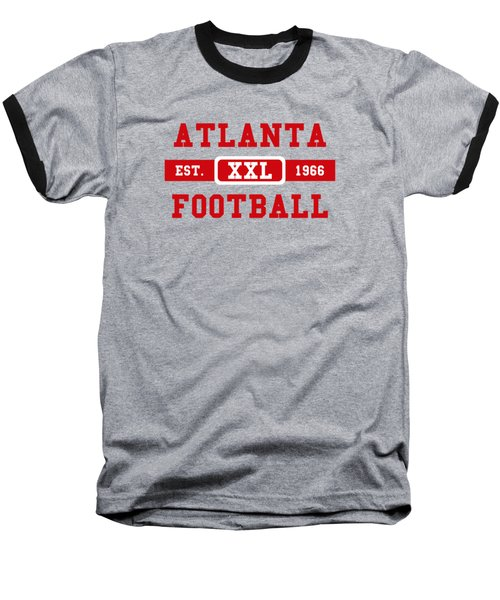 Atlanta Falcons Retro Shirt 2 Baseball T-Shirt by Joe Hamilton