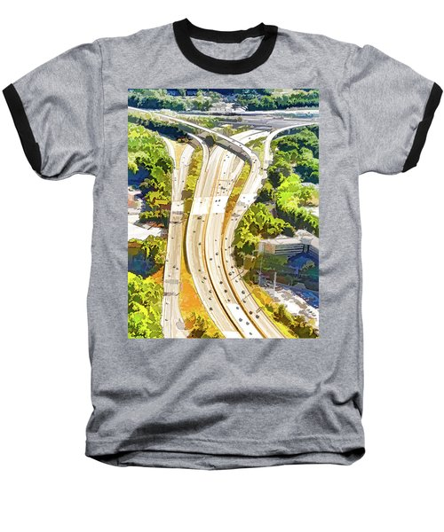 Atlanta Highways Baseball T-Shirt