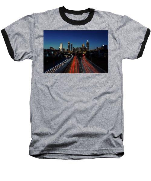 Atlanta Skyline 1 Baseball T-Shirt