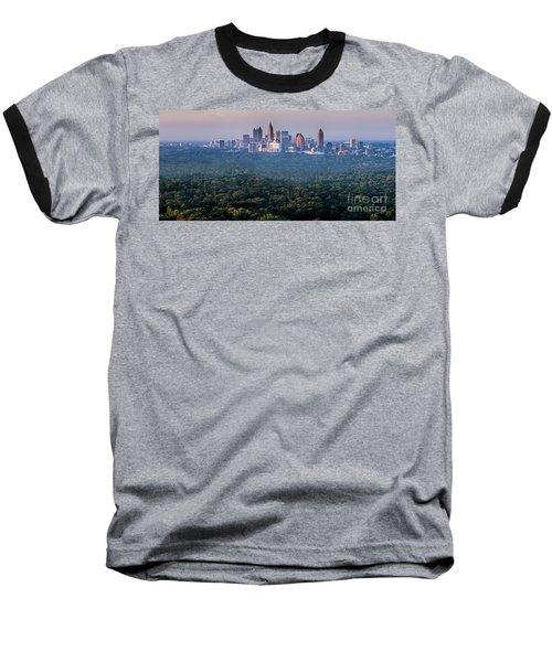 Atlanta Skyline Baseball T-Shirt
