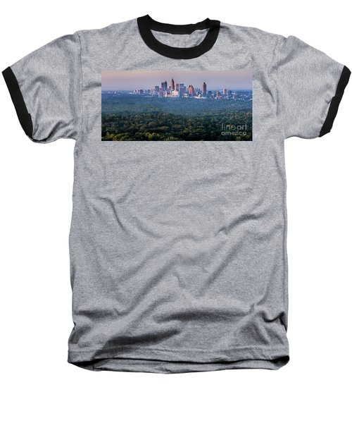 Atlanta Skyline Baseball T-Shirt
