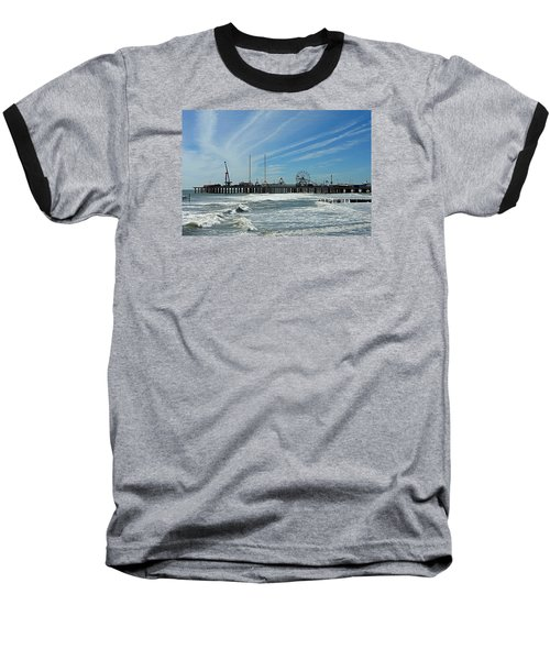 Atlantic City, New Jersey Baseball T-Shirt by Allen Beilschmidt
