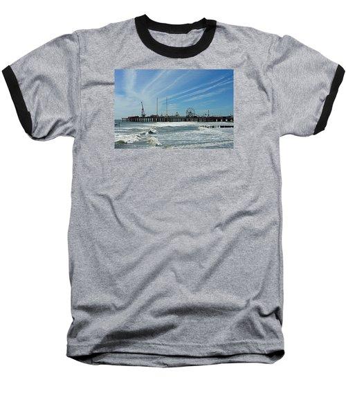 Baseball T-Shirt featuring the photograph Atlantic City, New Jersey by Allen Beilschmidt