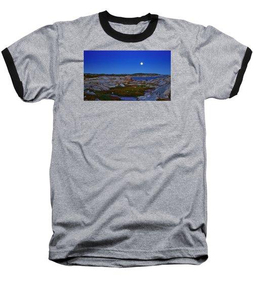 Atlantic Moon  Baseball T-Shirt by Heather Vopni