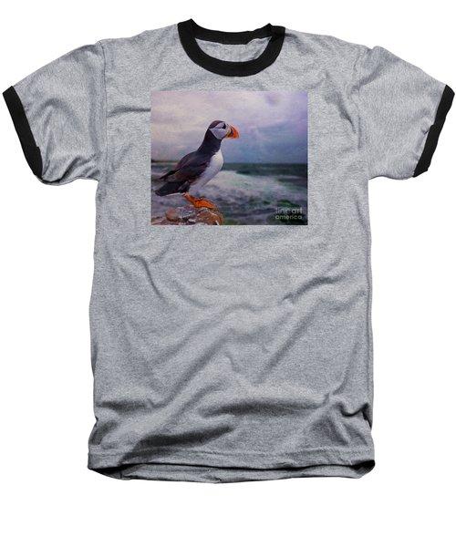 Atlantic Puffin Baseball T-Shirt