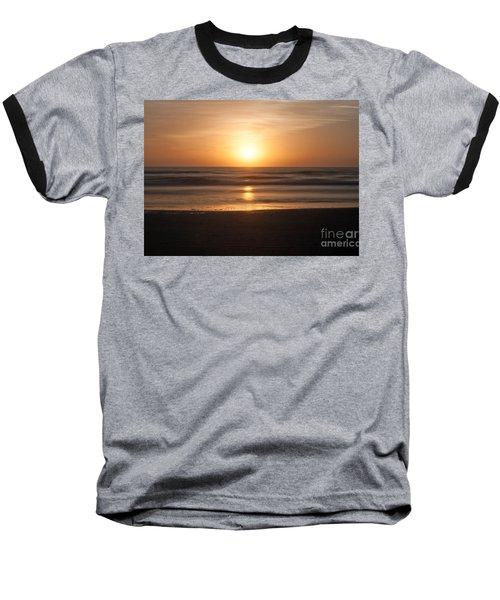 Baseball T-Shirt featuring the photograph Atlantic Sunrise by Marion Johnson