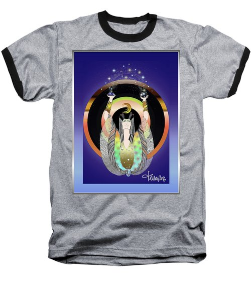 Atlantis - Copper Ring Energy Alchemy Baseball T-Shirt