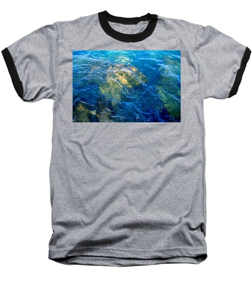 Atlantis Baseball T-Shirt by Jamie Lynn