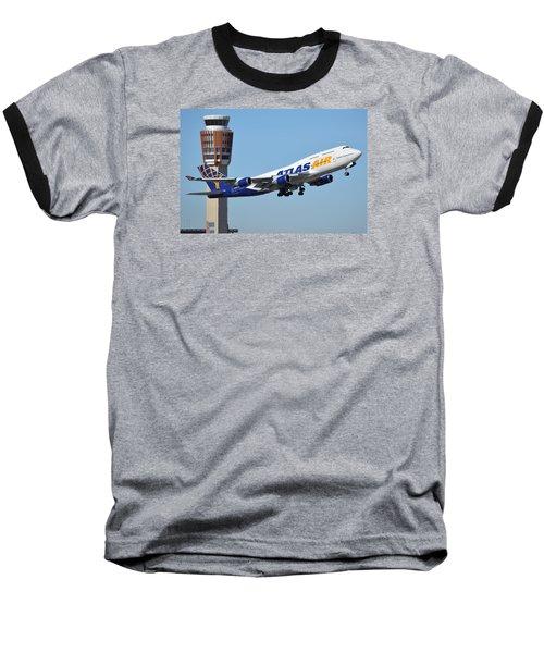 Atlas Air Boeing 747-446 N465mc Phoenix Sky Harbor January 12 2015 Baseball T-Shirt