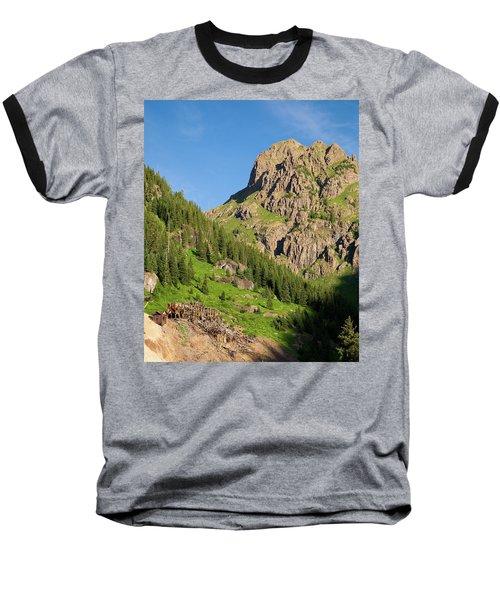 Baseball T-Shirt featuring the photograph Atlas Mine by Steve Stuller