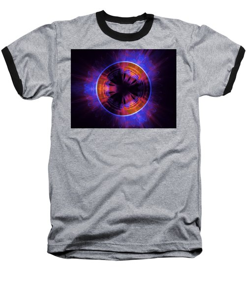 atmospheric Burner with Gas Flames Baseball T-Shirt