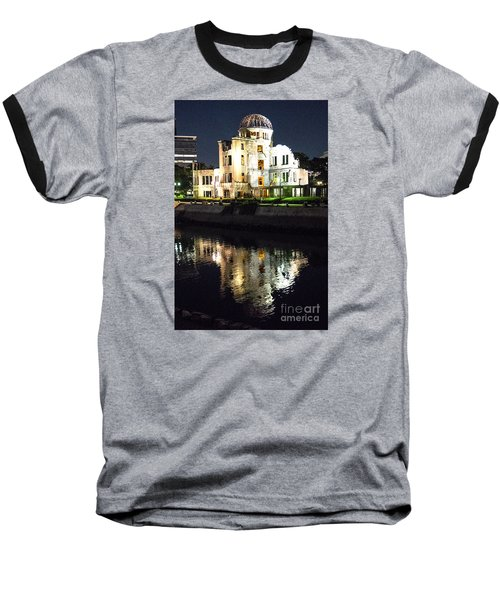 Baseball T-Shirt featuring the photograph Atomic Dome - Symbol Of Destruction And Hope by Pravine Chester