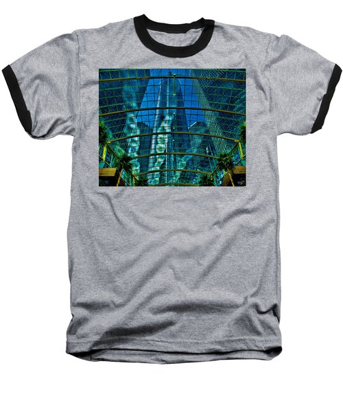 Atrium Gm Building Detroit Baseball T-Shirt