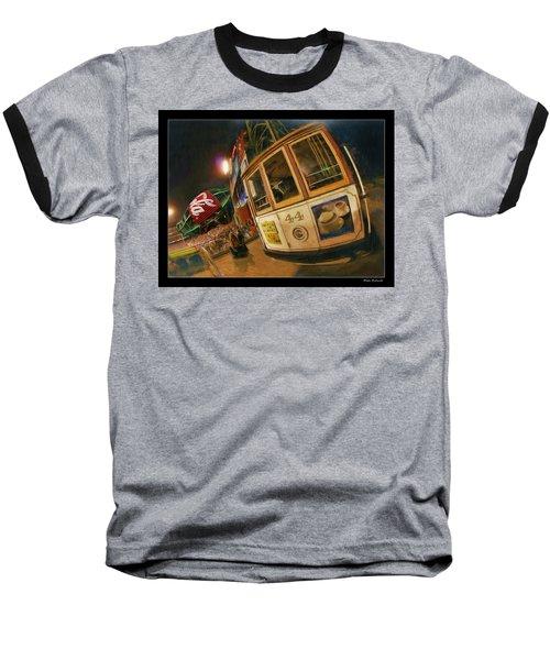 Att Park At Night Baseball T-Shirt
