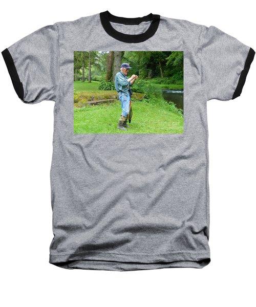 Attaching The Lure Baseball T-Shirt