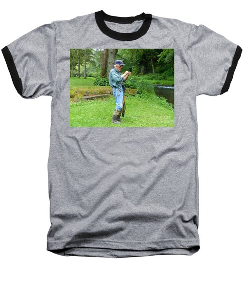 Attaching The Lure Baseball T-Shirt