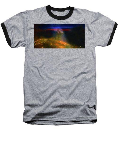 Attack Of The Aliens Baseball T-Shirt