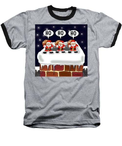Attack Of The Mini-santas Baseball T-Shirt