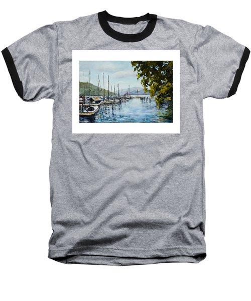 Attersee Austria Baseball T-Shirt
