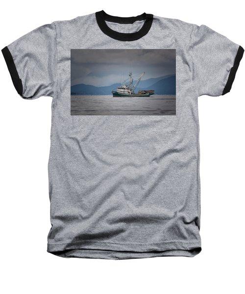 Attu Off Madrona Baseball T-Shirt by Randy Hall