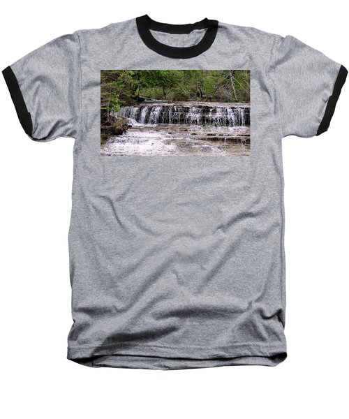 Au Train Falls Baseball T-Shirt