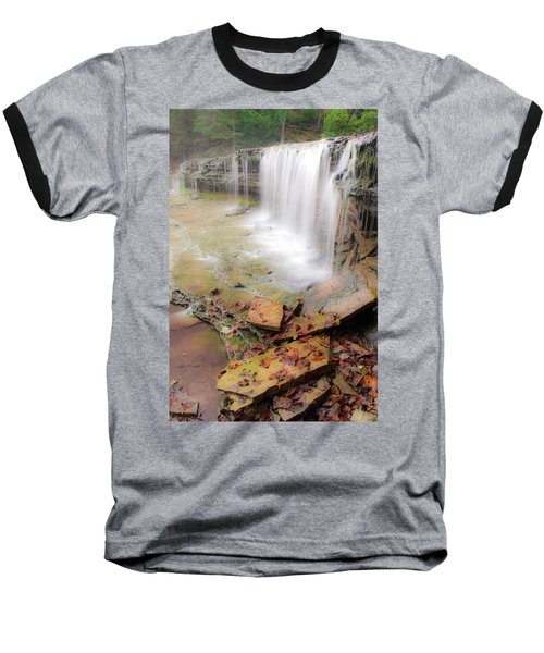 Au Train Falls Baseball T-Shirt