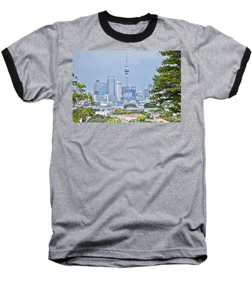 Auckland City C B D Baseball T-Shirt